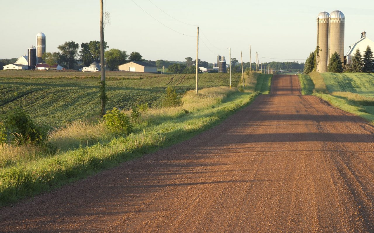 Background Template 0009 Rural Road