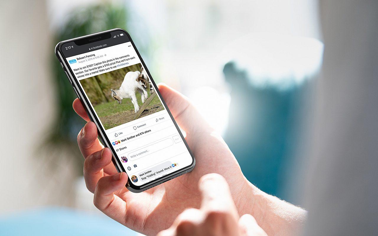 Bekaert Facebook Post Goat