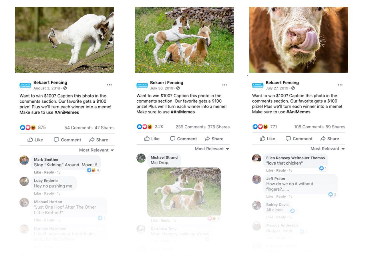 Bekaert Facebook posts